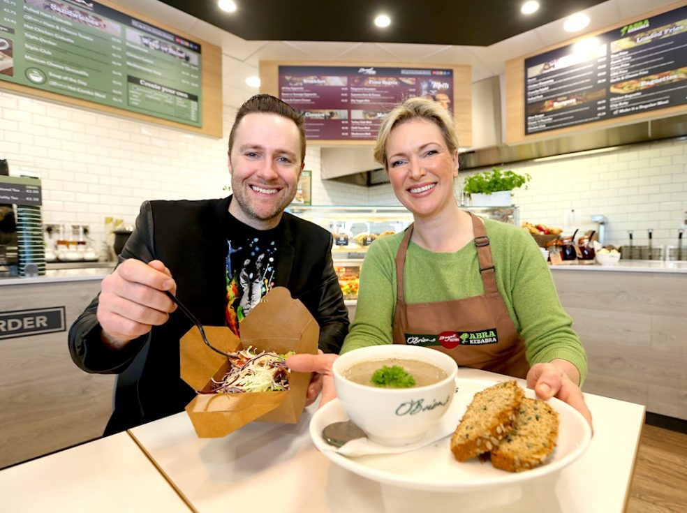 Keith Barry and Rachel Allen at AIL Group's 130th Launch