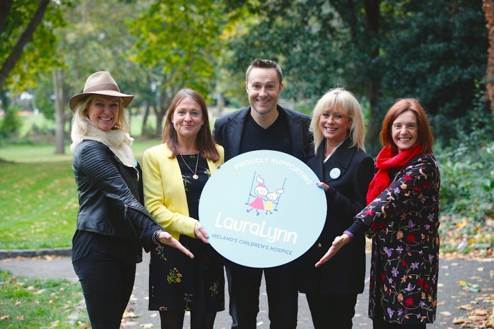 Rachel Allen and Keith Barry at AIL Group and LauraLynn Charity Partnership Launch